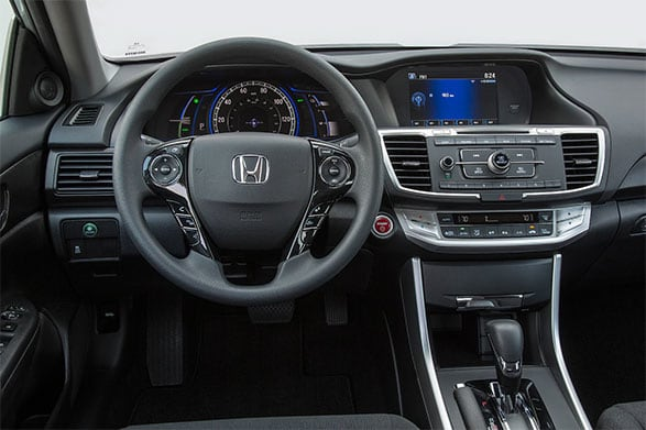 2014 honda accord interior