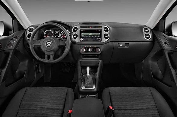 Used Volkswagen Tiguan Interior