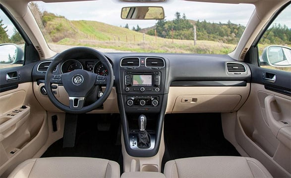 Used Volkswagen Jetta Interior