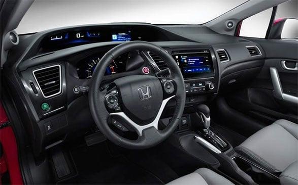 Used Honda Civic Interior
