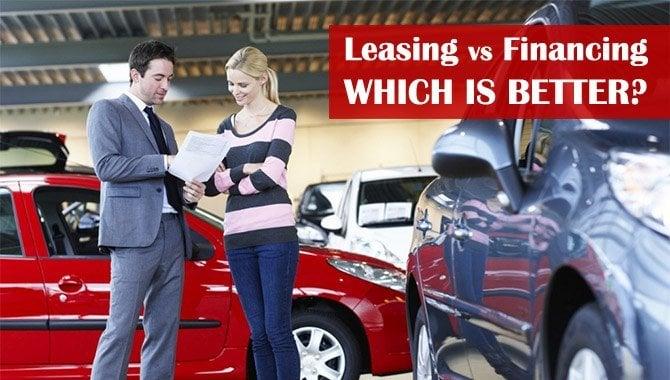 leasing vs financing used car