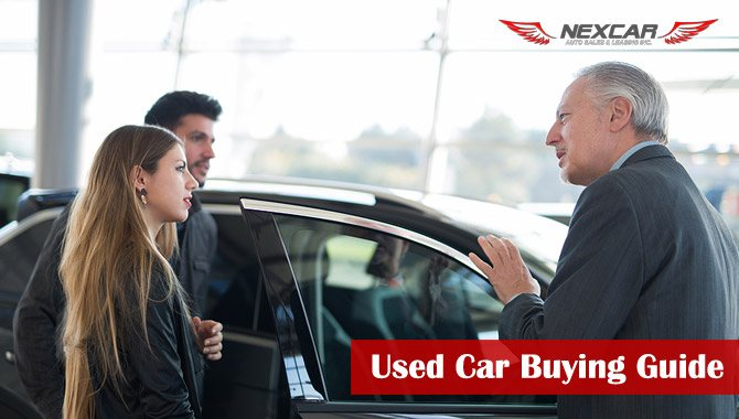used car buying guide by Nexcar