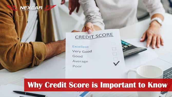 Why Your Credit Score is Important to Know