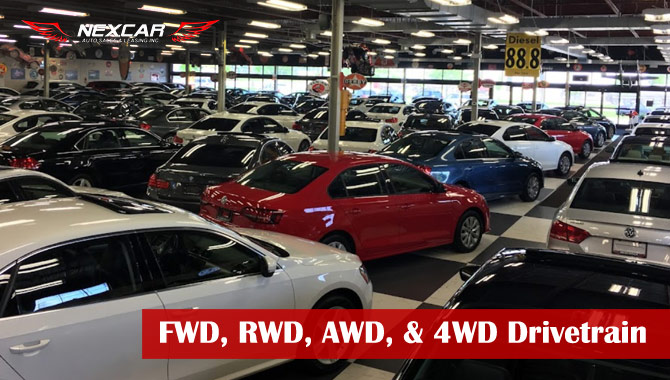The Difference Between FWD, RWD, AWD, & 4WD Drivetrain