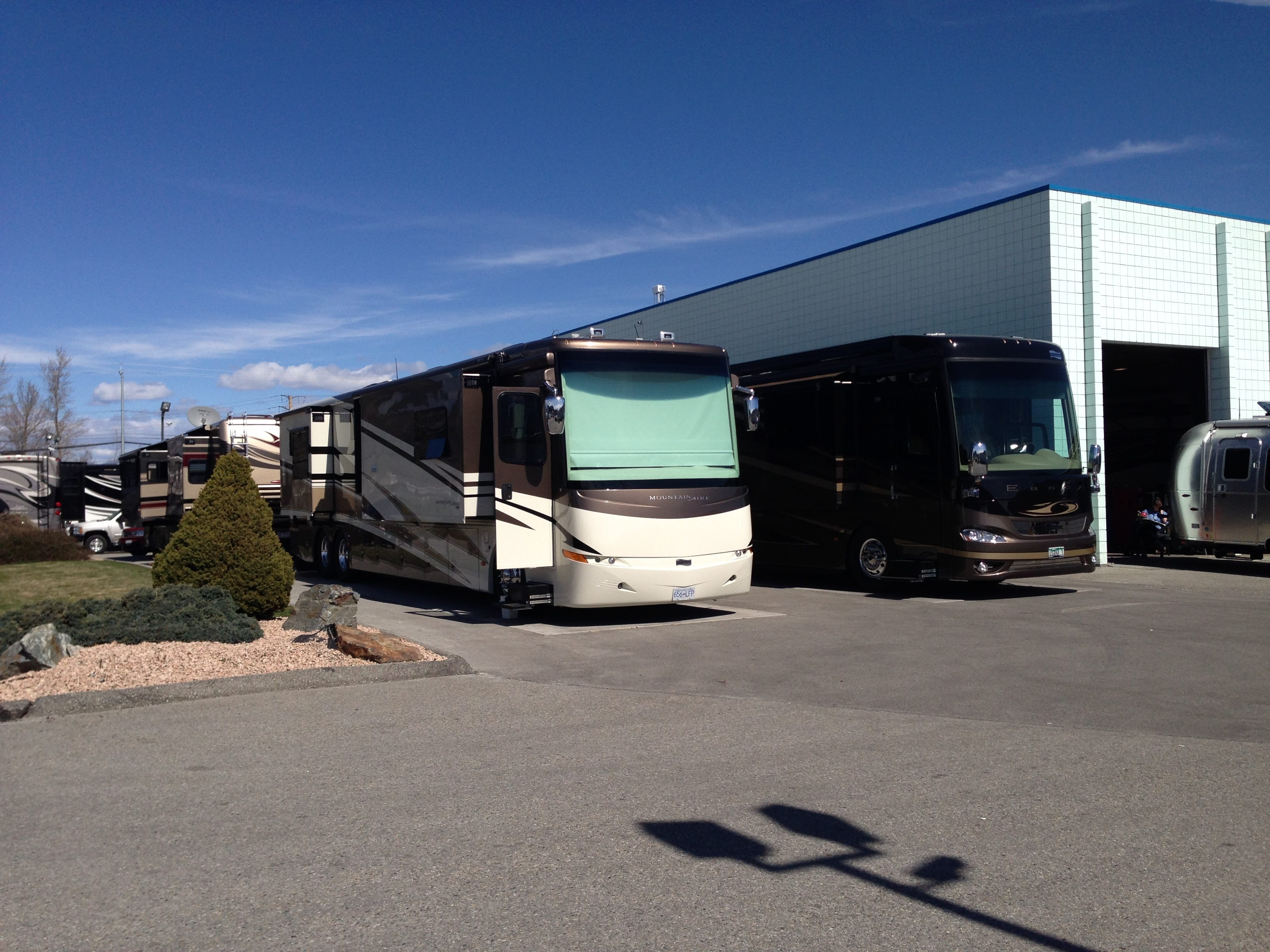 guest accommodation at Midtown RV