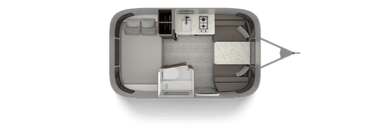 Airstream 16RB Floorplan