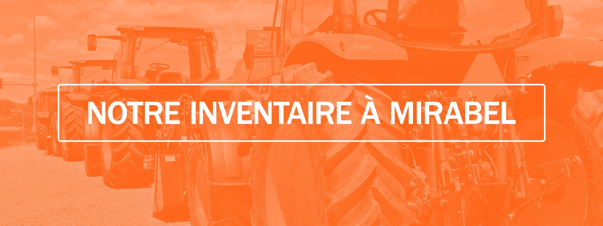 Centre du tracteur d'occasion de Mirabel