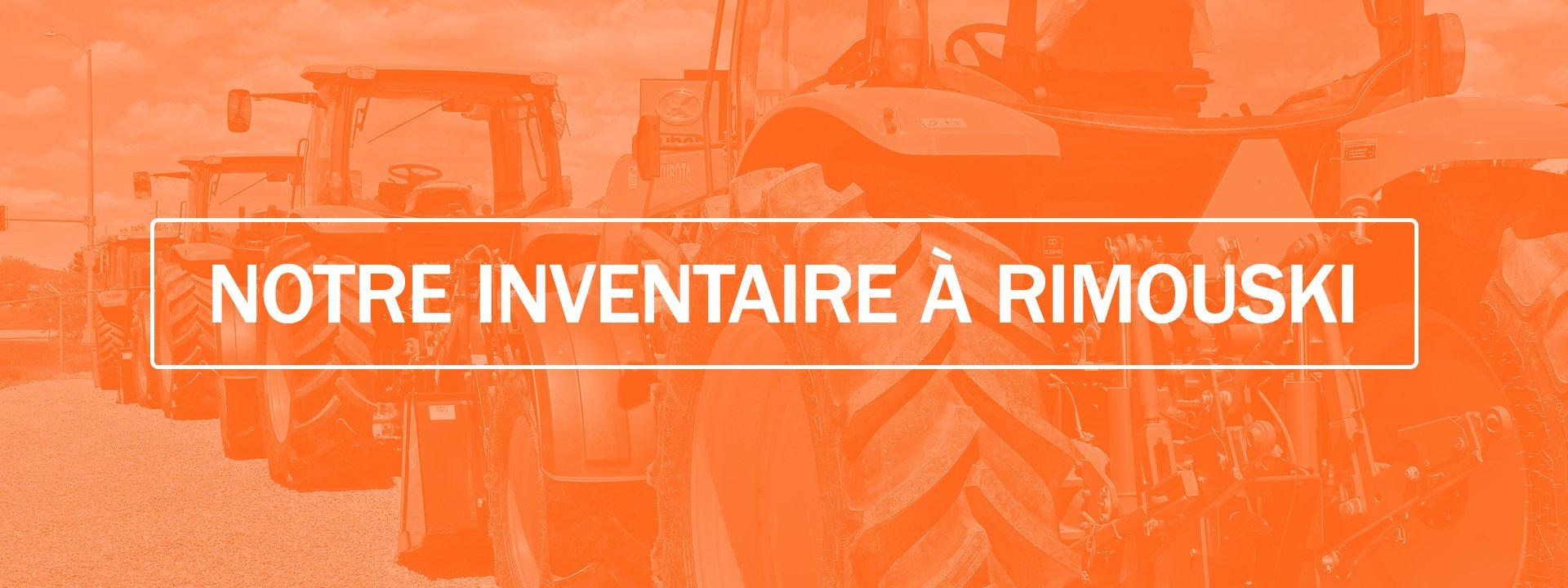 Centre du tracteur d'occasion de Rimouski