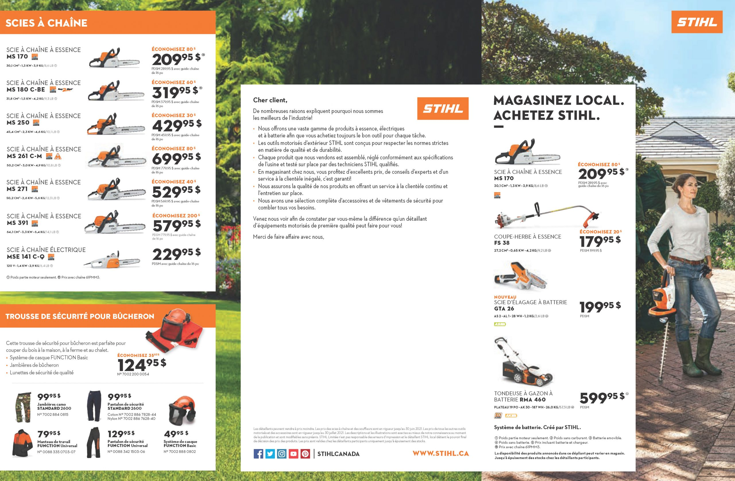page 1 promotions Stihl