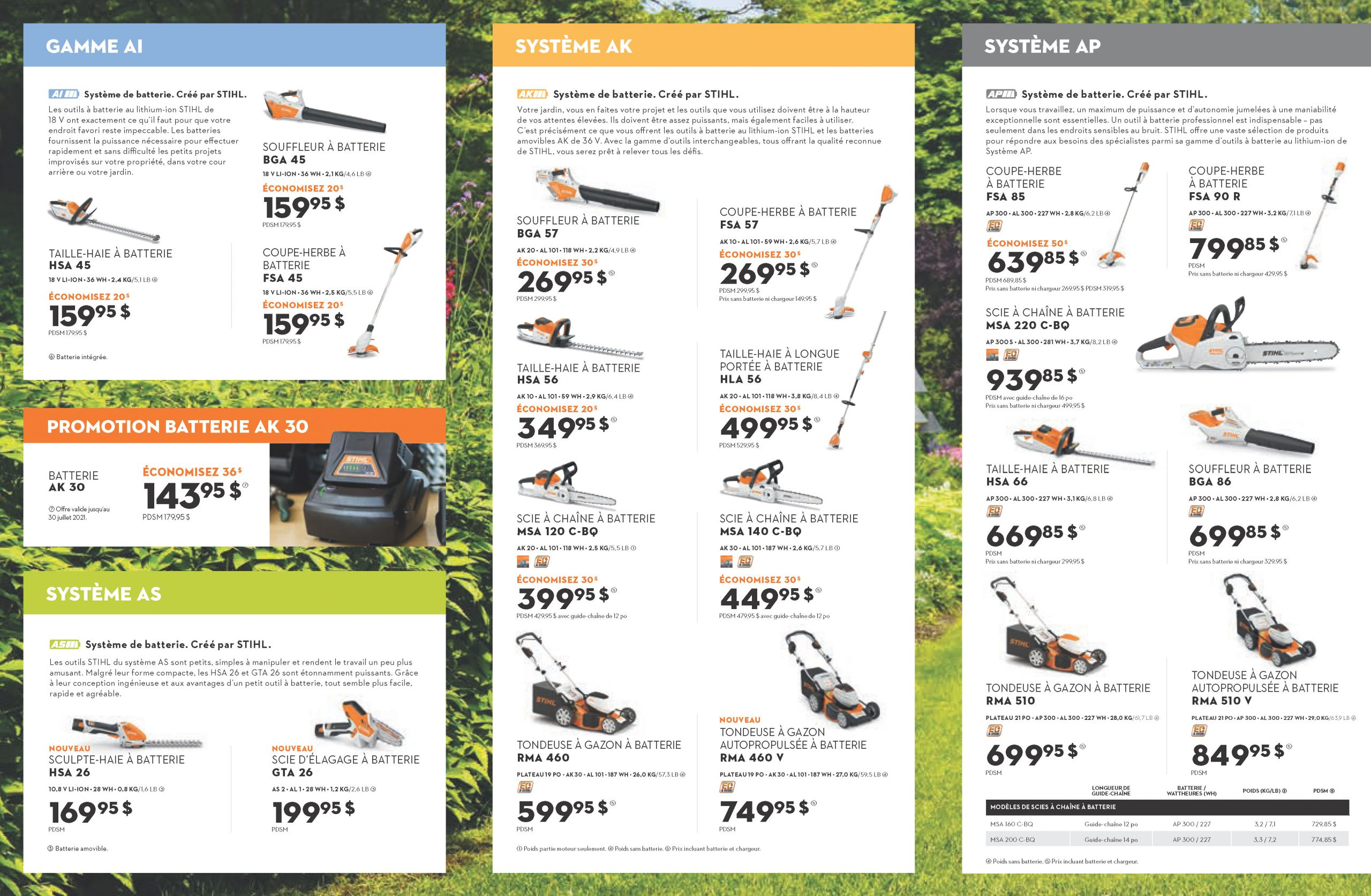page 3 promotions Stihl
