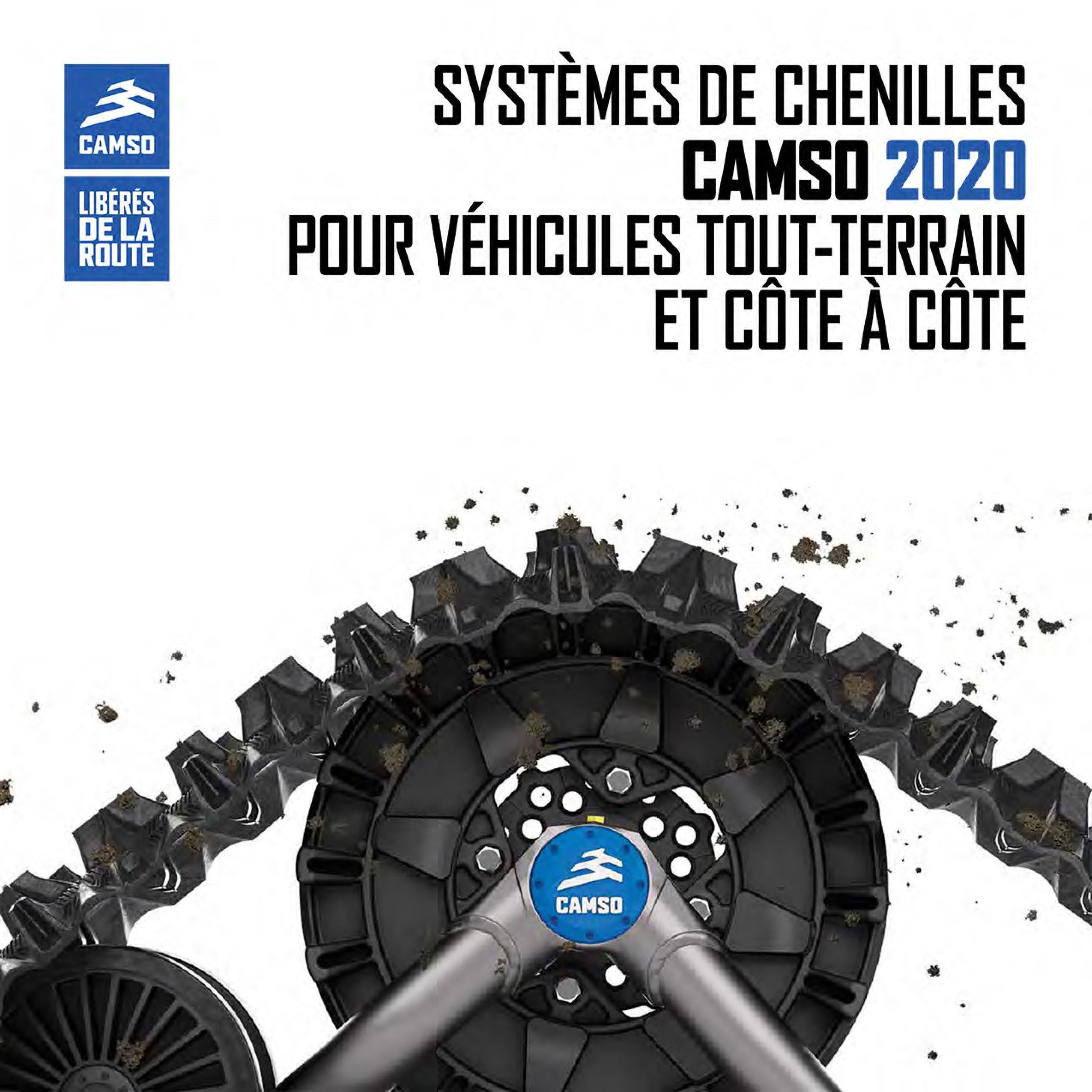 Kit de chenille Camso disponible chez Moto Repentigny