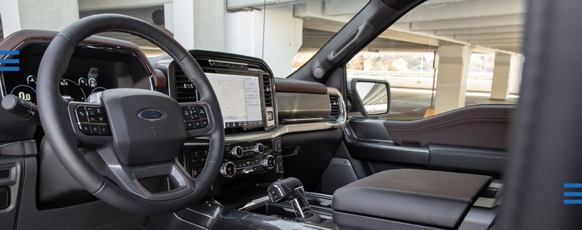 Interior | 2021 Ford F150