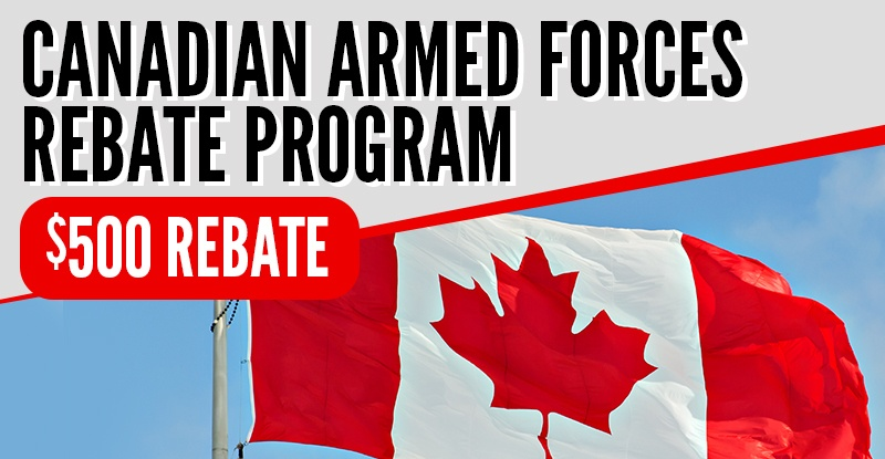 Canadian Armed Forces Rebate