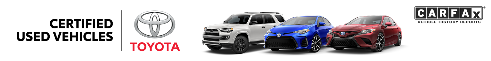Toyota Certified Used Vehicles Program