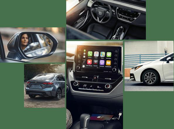 2021 Corolla interior
