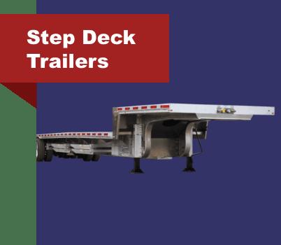 Step Deck Trailers