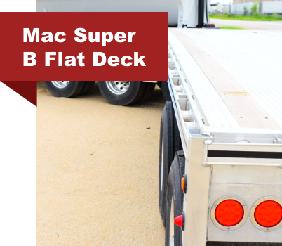 Mac Super B Flat Deck