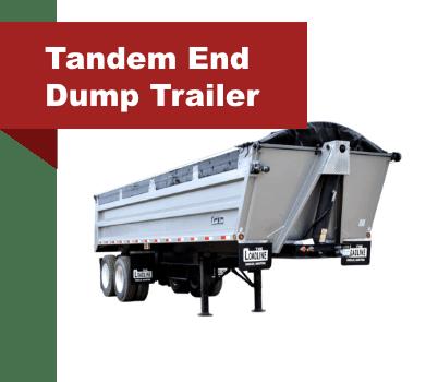 Tandem End Dump Trailer