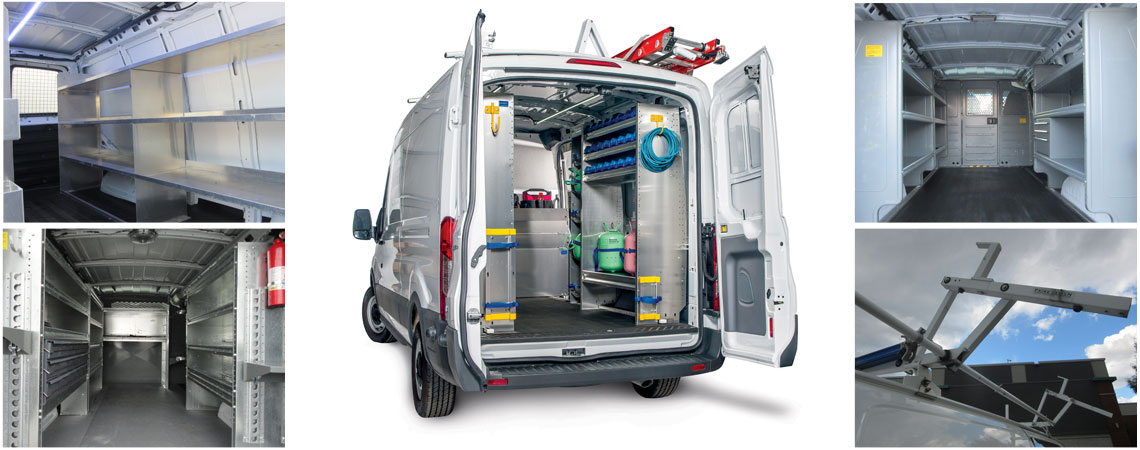 Fitting Out inside of van